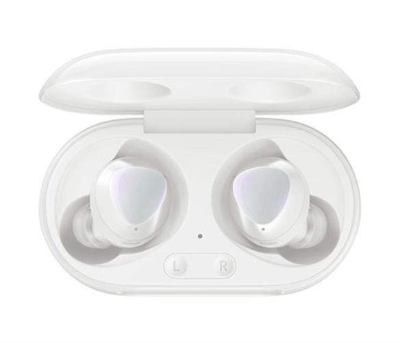 אוזניות אלחוטיות Bluetooth עם מיקרופון Samsung Galaxy Buds Plus SM-R175 בצבע לבן הכוללות כיסוי טעינה