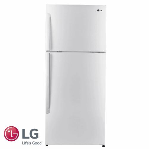 LG מקרר מקפיא עליון 425 ליטר דגם: GR-B485INVW גוון לבן