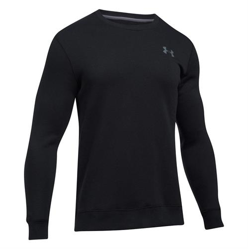פוטר אנדר ארמור 1302854-001 Under Armour  Men's Fleece Solid Fitted Crew