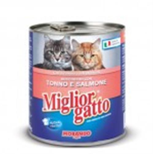 שימור לחתול מיגליאור 405 גרם בטעם סלמון