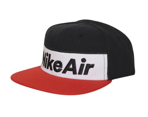 כובע NIKE AIR אדום/שחור - ילדים