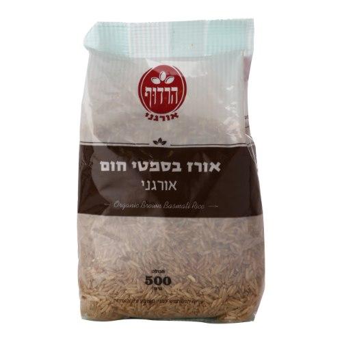 אורז בסמטי חום אורגני הרדוף - 500 גרם