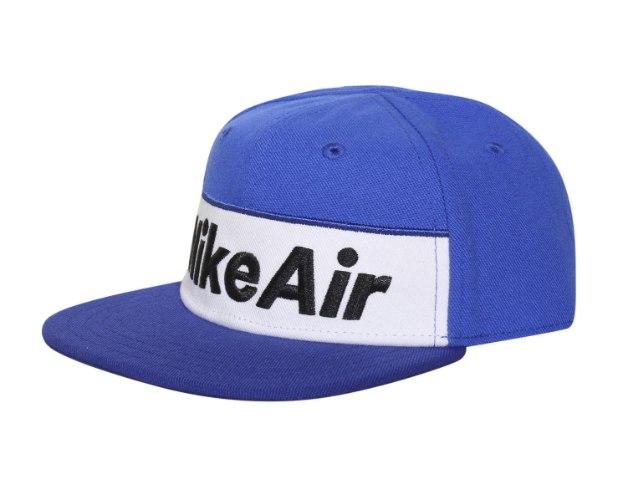 כובע NIKE AIR כחול/שחור - ילדים