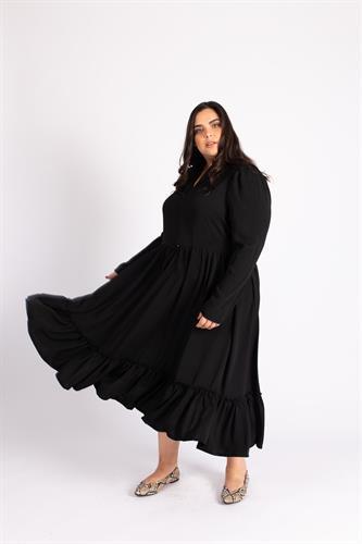 שמלת ג'ייד שחורה