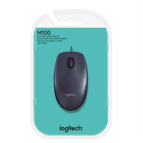 עכבר חוטי Logitech M100