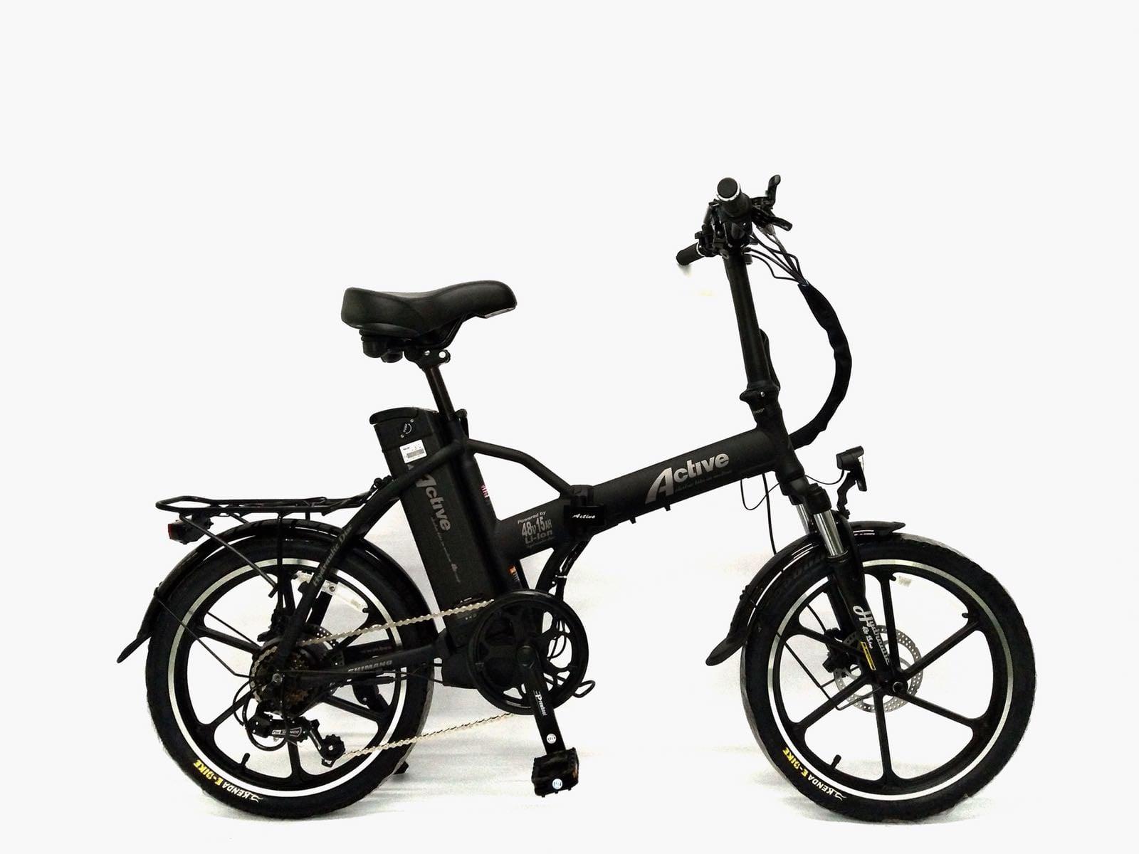אופניים חשמליים ACTIVE גלגלי מגנזיום 48V 15.6AMH בלמי שמן הידראולים