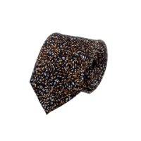 עניבה זיקוקים כחול ברונזה
