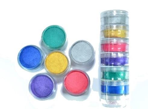 6 צבעי מים בשרוול