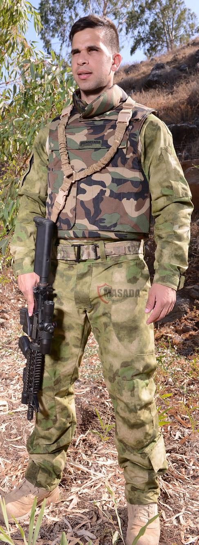 Woodland bullet proof vest