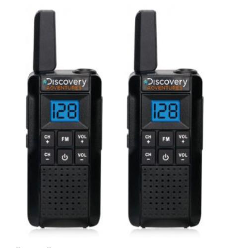 זוג מכשירי קשר ווקי טוקי Discovery DS-PRO