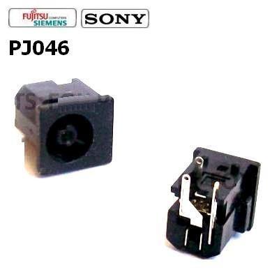 PJ046 - Fujitsu Lifebook S2000 S2020 S5582 S6120 Dc Jack שקע טעינה פוגיטסו