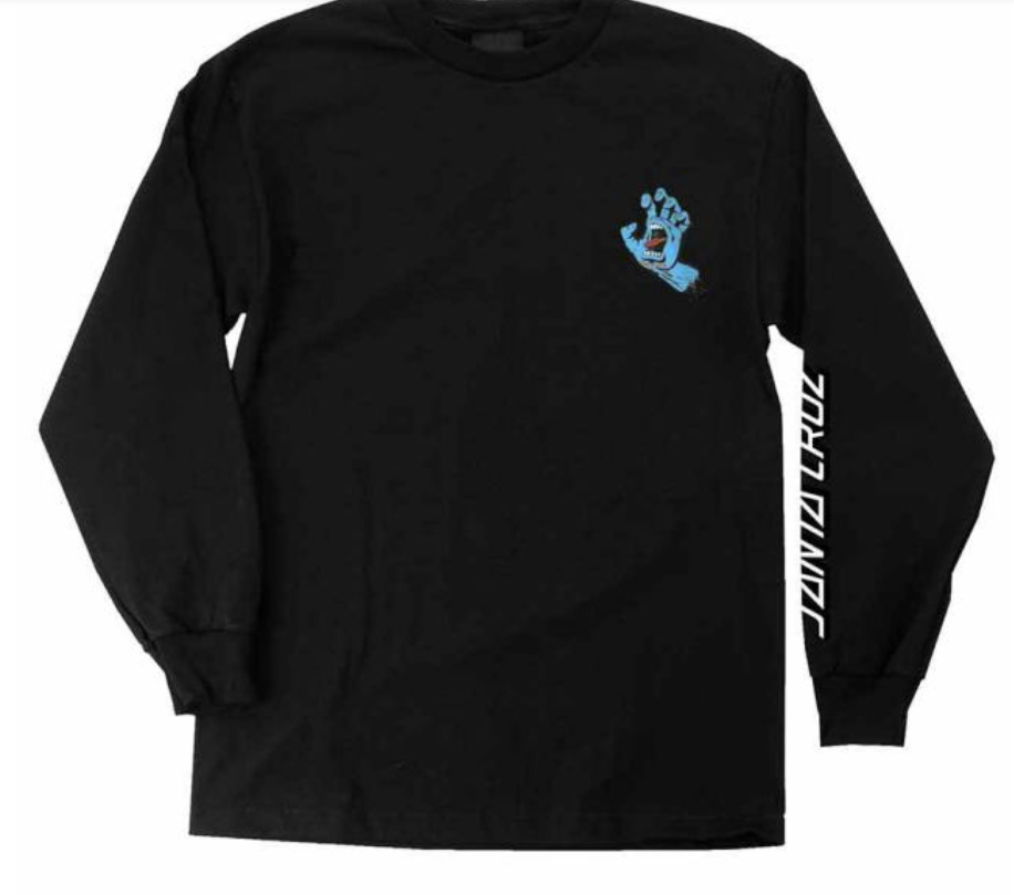 SANTA CRUZ Screaming Hand L T-Shirt Skateboards Jeff Phillips