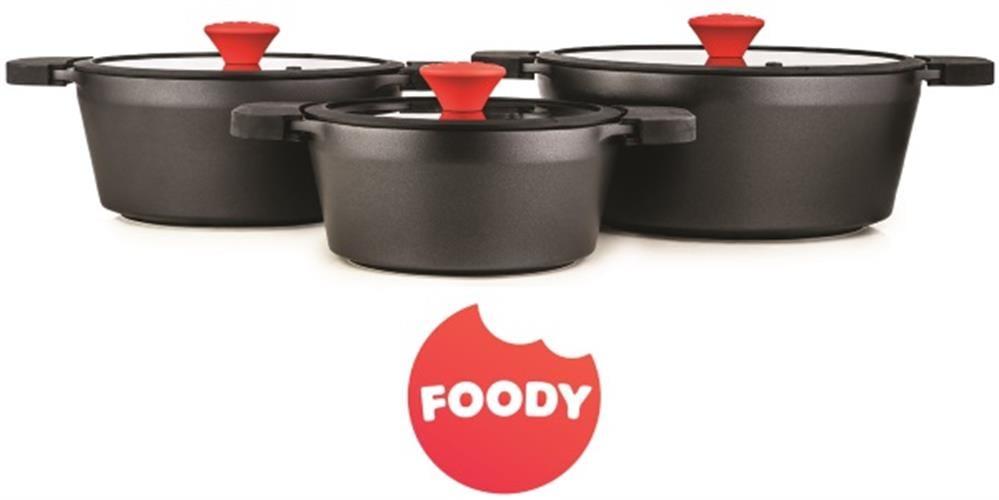 FOODY סט סירים 6 חלקים  דגם FO660
