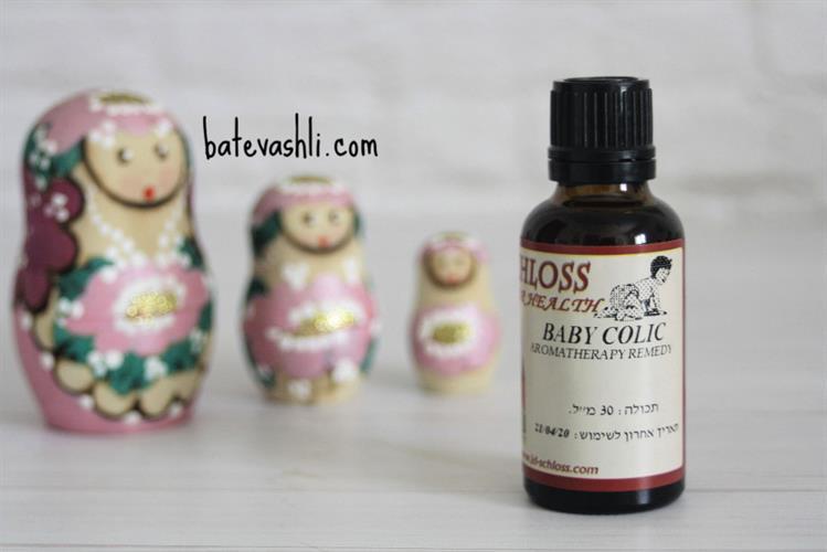 בייבי קוליקו|שמן מריחה חיצוני לגזים