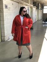 מעיל ג'ולייט אדום