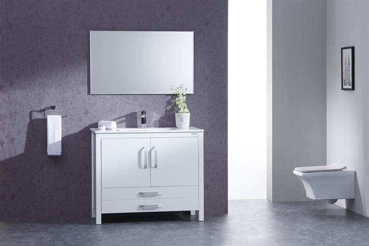 ארון אמבטיה עומד בעיצוב נקי דגם טונגרירו TONGARIRO
