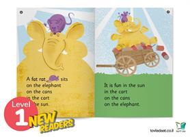 Level 1 Graded Readers - סט 10 ספרוני אנגלית לכיתה ג'