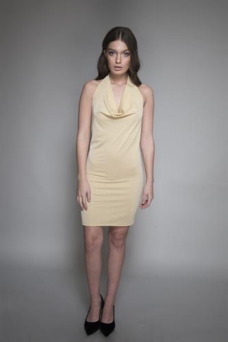 שמלה ביונסה זהב