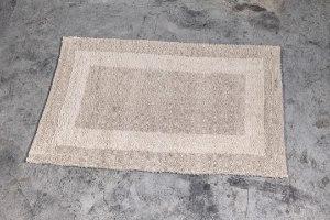 שטיח כותנה בינוני - צבע חול