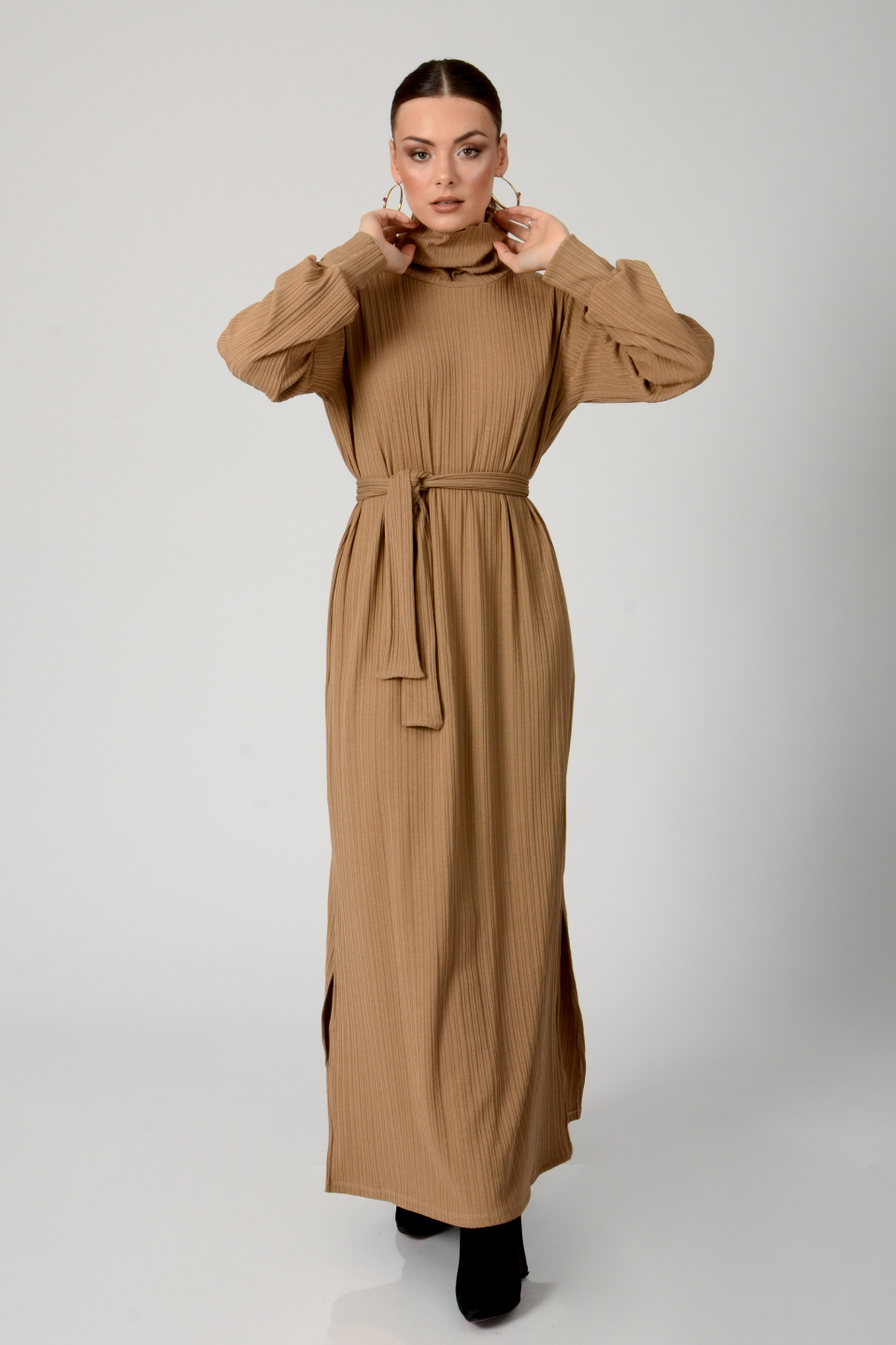 שמלת סלין ערב כאמל