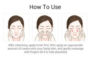 קרם פנים חומצה היאלרונית