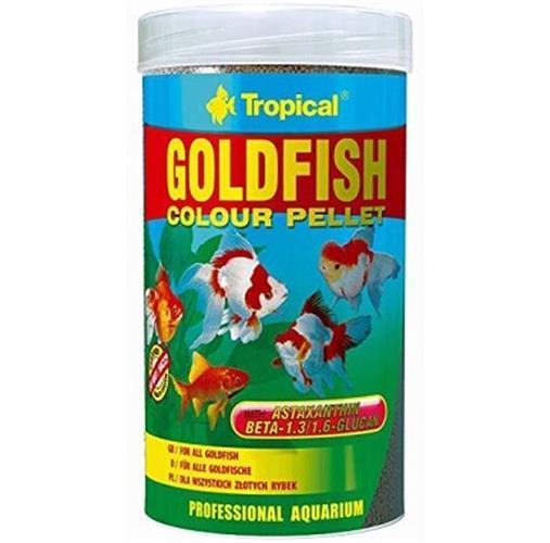 """מזון לדגי זהב מגורען 250 מ""""ל"""