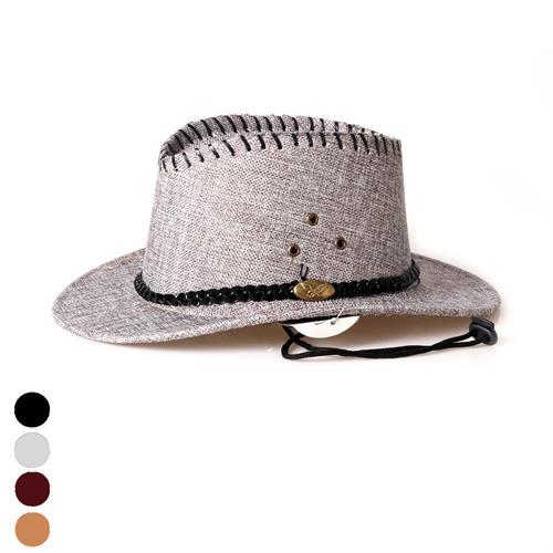 כובע קאובוי בד ילדים