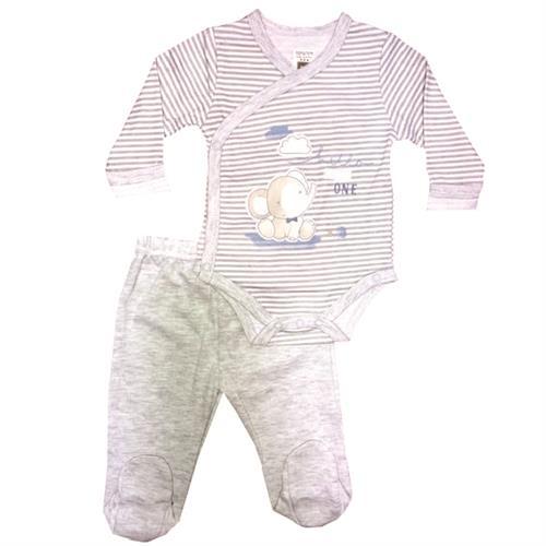 חליפת חזייה פילפילון - אפור
