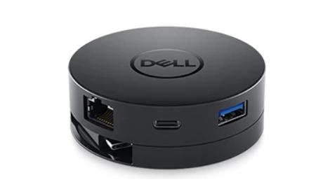 תחנת עגינה Dell USB-C Mobile Adapter DA300