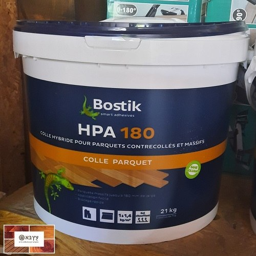 דבק חד רכיבי לפרקט עץ, 21 קג, תוצרת BOSTIK