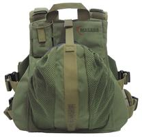 plate carrier with an inner belt - green