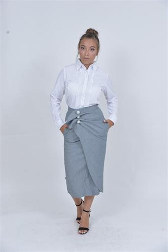 חצאית מואיז ויטו פנינים