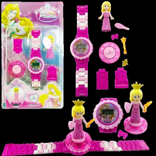 שעון לגו דיגיטלי נסיכה