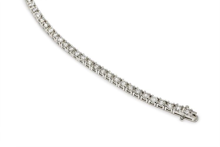 צמיד טניס יהלומים 6.5 קראט צמיד יהלומים