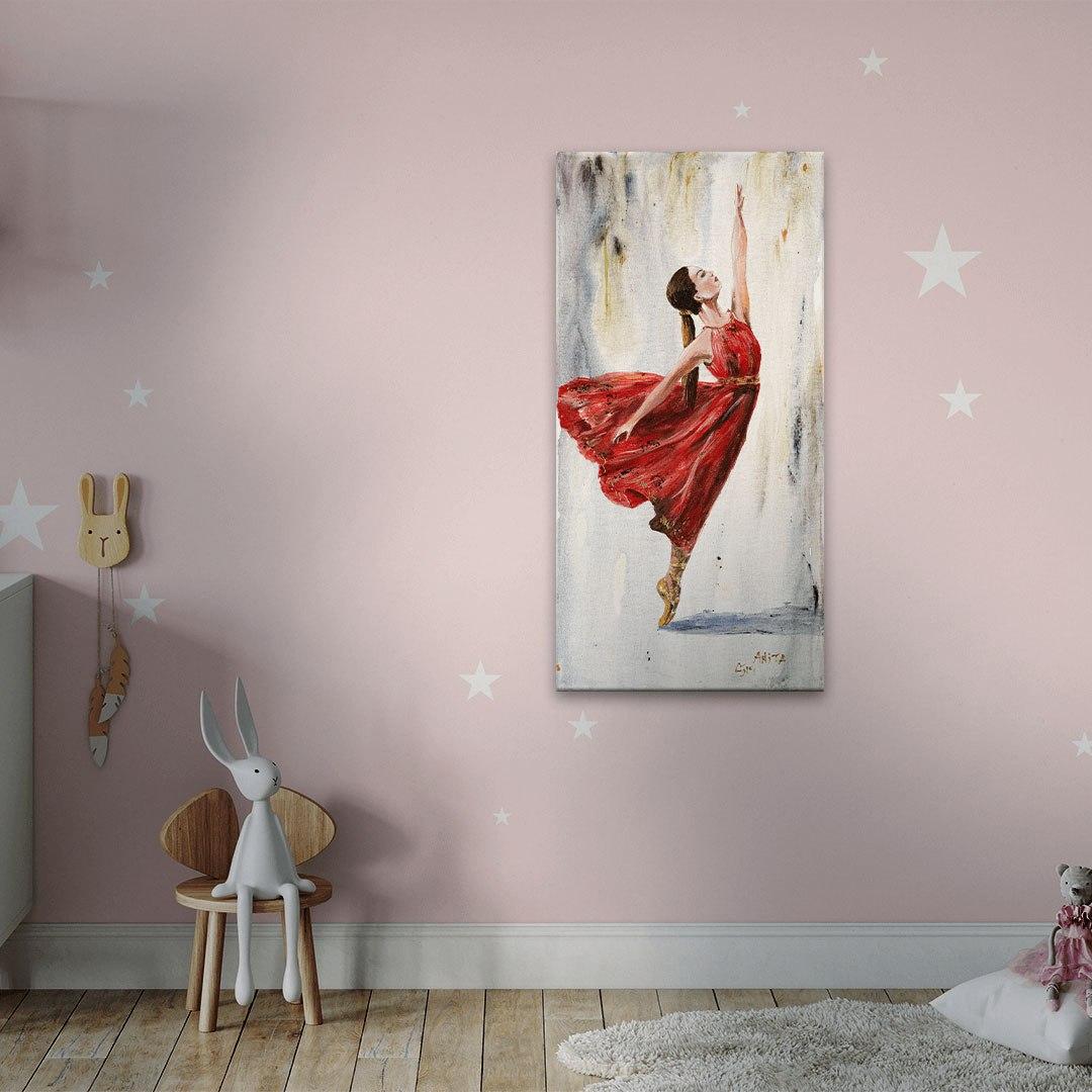 ציורים יפים רקנידת בלט
