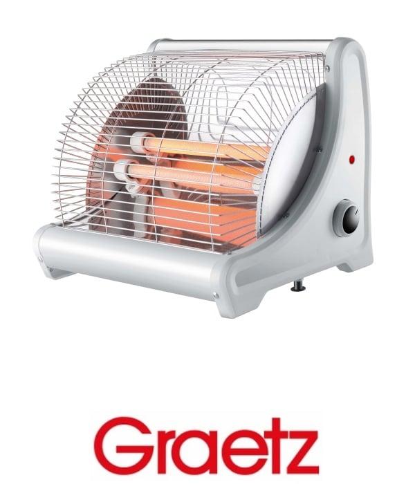 Graetz תנור חימום 2 ספירלות דגם GR1002
