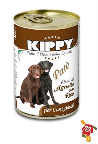 שימור לכלב טלה ואורז 400 גרם KIPPY