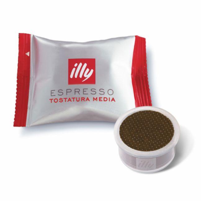 100 קפסולות קפה אילי - ILLY MEDIUM ROAST