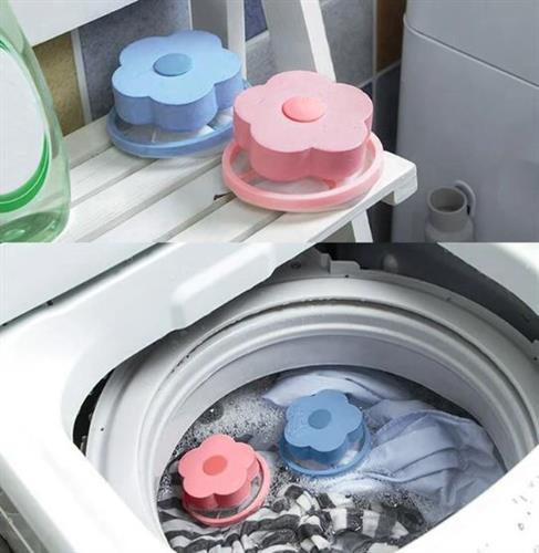 לוכד סיבים/שערות ולכלוך למכונת כביסה