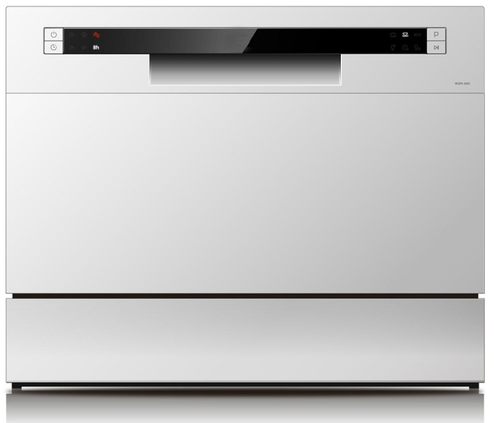 מדיח כלים על השיש לקאזה דגם WQP6-3602G לבן