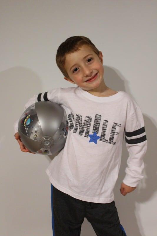 חליפת לייקרה לילד - SMILE - מידות 2,4,6,8