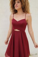 שמלת מירנדה בורדו