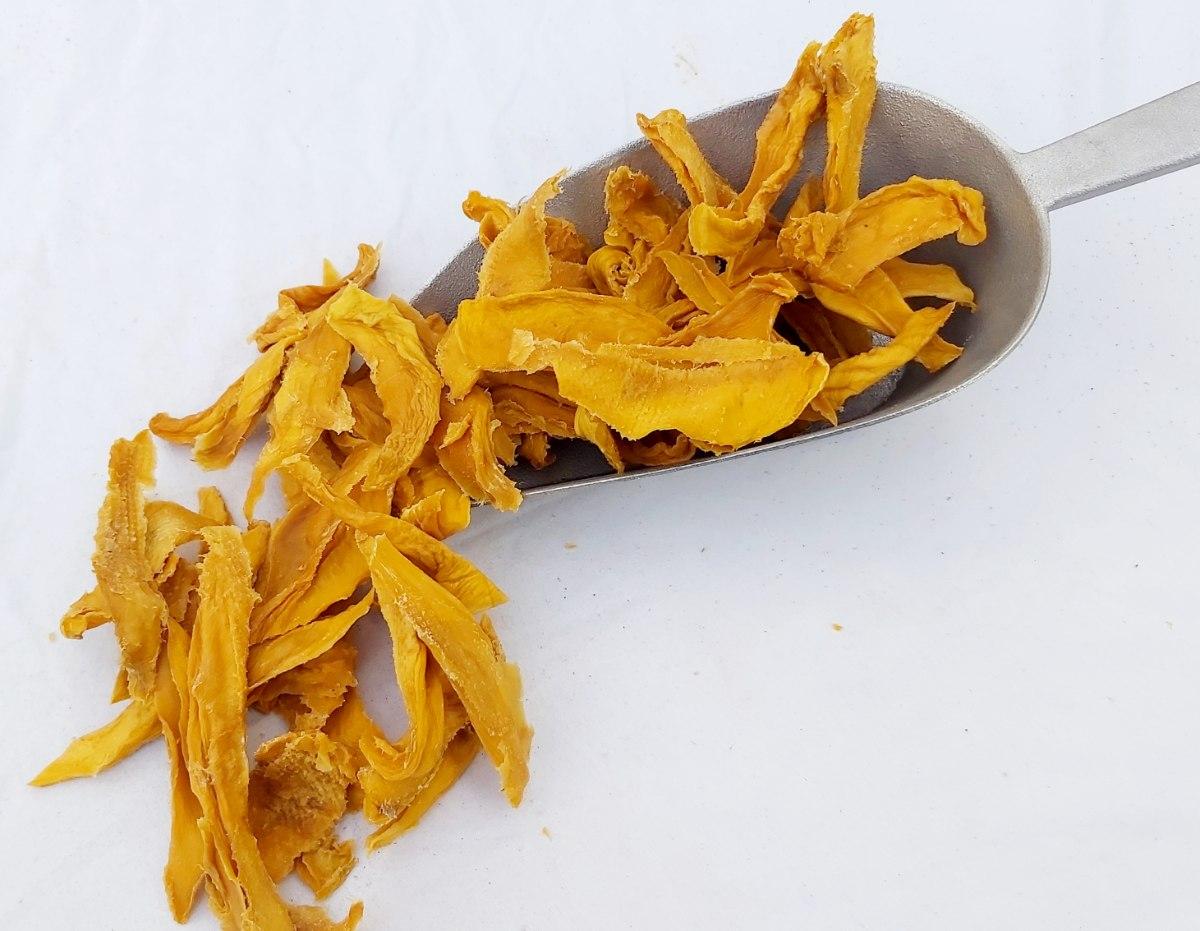 מנגו מיובש ללא סוכר - 500 גרם