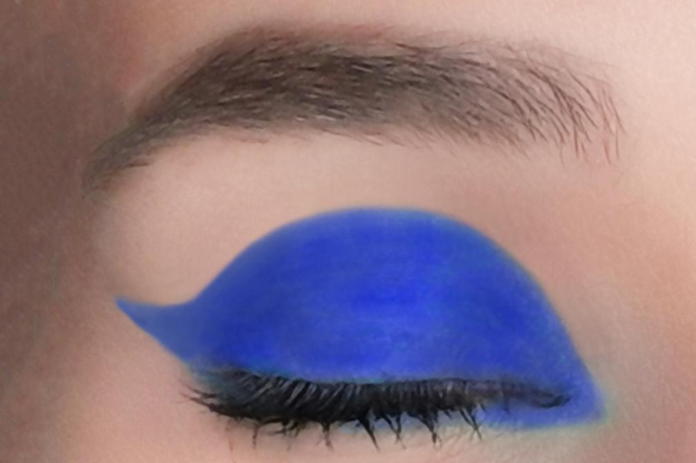 צללית כחולה Ocean