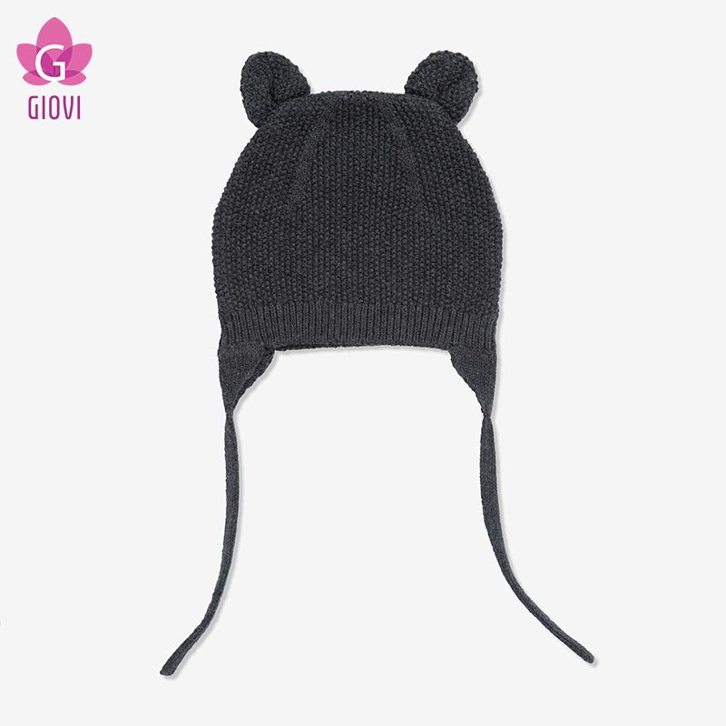 כובע עם אוזני חתול(אפור)