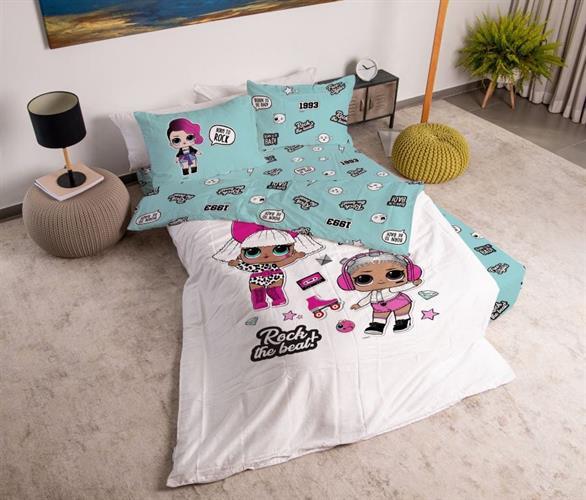 סט מלא מיטה וחצי דגם lol של ורדינון