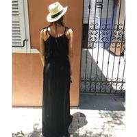 שמלת טרופיקנה שחורה