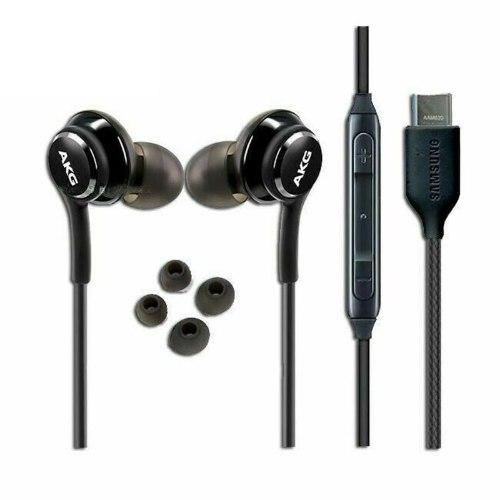 אוזניות חוט מקוריות סאני SAMSUNG AKG Stereo USB Type-C