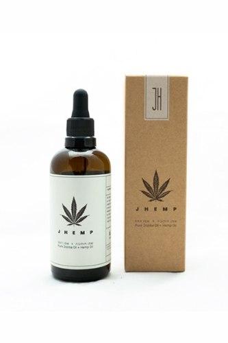 JHEMP שמן חוחובה טהור+שמן המפ