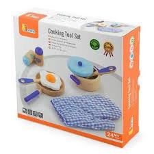 ויגה - סט כלי מטבח כחול
